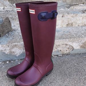 Hunter Boots sz 8 ☔️